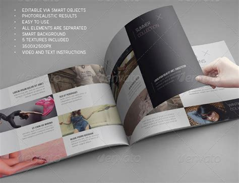 14 up close brochure psd mockups images free flyer mock