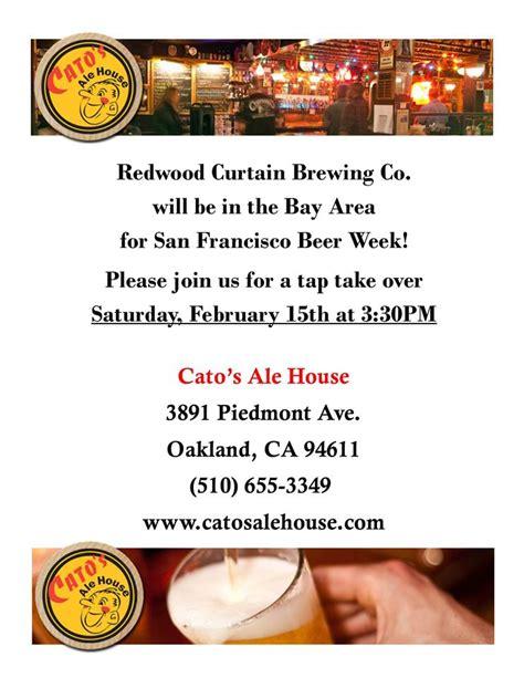 redwood curtain brewery san francisco beer week redwood curtain brewing co