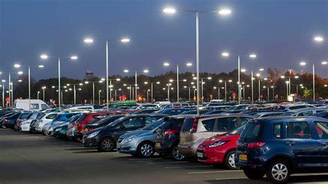 digital parking lot light timer tips for parking lots lighting with led light fixtures iluxz