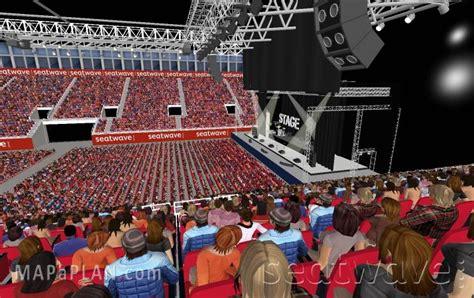 Nec Birmingham Floor Plan by Birmingham Genting Arena Nec Lg Arena Block 2 Row P