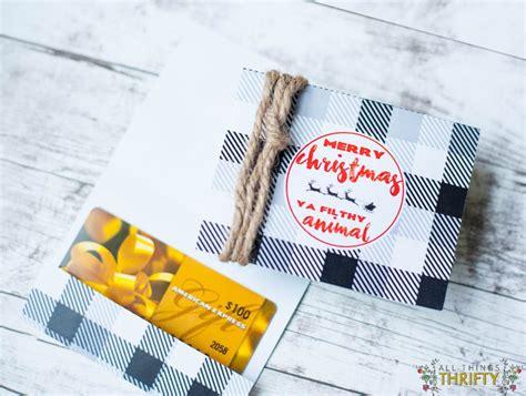 Printable Gift Card Holder - free printable christmas gift card holders printable cards