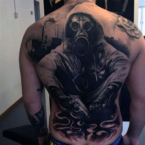 100 gas mask tattoos for men youtube 90 black ink designs for ink ideas