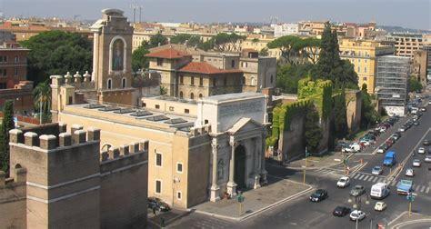 piazzale porta pia file roma porta pia lato nomentana jpg wikimedia commons