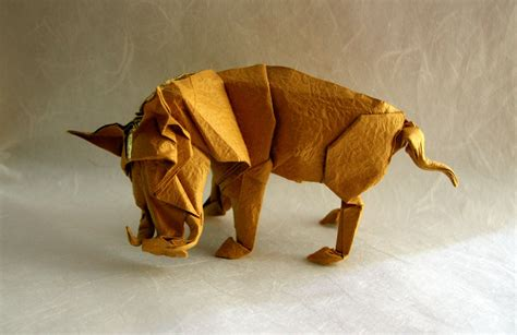 Folded Paper Animals - are these origami animals awesome you bet giraffe they are