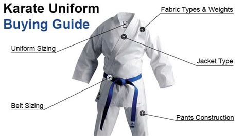 Do You Want To Do Karate In The Garage by Karate Uniforms Everything You Need To Before