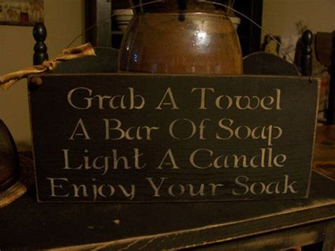 bathroom soak sign 1000 ideas about bath sign on pinterest bathroom signs