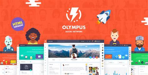 Themeforest Olympus | themeforest olympus html social network toolkit