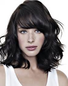 layered cuts for medium lengthed hair for black in their late forties shoulder length haircuts thebestfashionblog com
