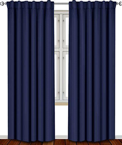1 curtain panel per window blackout room darkening curtains window panel drapes