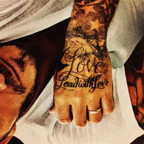 david beckham tattoos designs lead with david beckham living