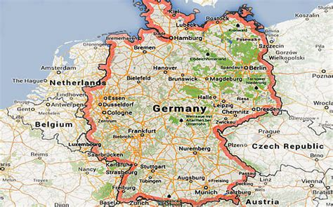 maps germany directions map of germany maps pictures to pin on