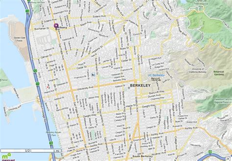 berkeley map berkeley ca