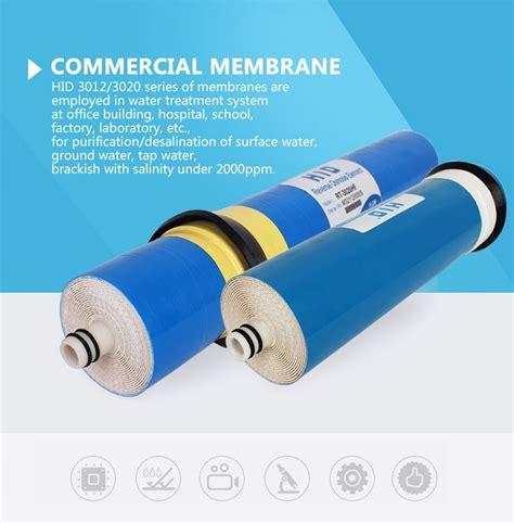 Housing Membran Ro 400gpd 3013 hid commercial osmosis ro membrane tfc 3013