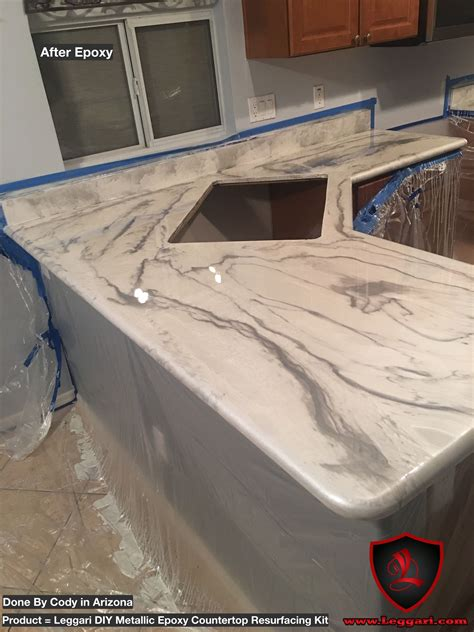 another time user of our products and it looks amazing countertop resurfacing made