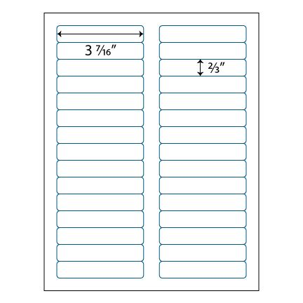 avery 2 x 7 label template file folder labels 3 7 16 quot x 2 3 quot 30 up avery 174 5366 compatible
