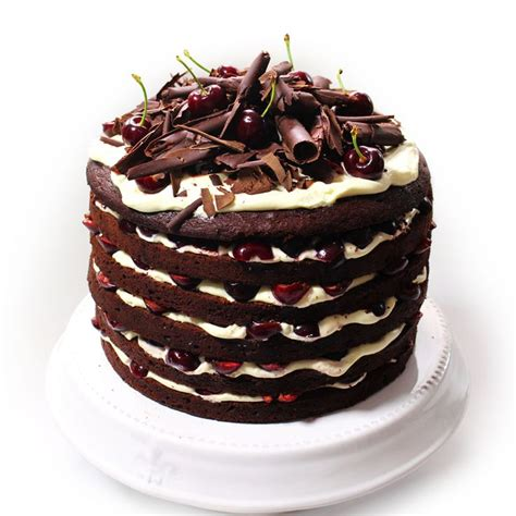 decorative christmas dessert recipes dessert is sorted with our black forest cake woolworths dessert recipe