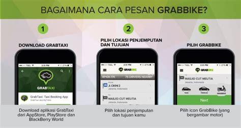 membuka usaha ojek online grabtaxi kini buka pemesanan ojek online grabbike