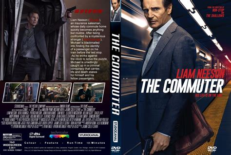 the commuter 2018 r1 custom dvd cover label dvdcover