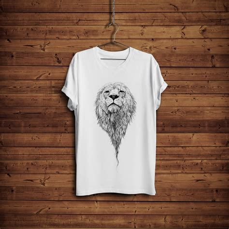 Free Background Pattern Tshirt | free t shirt mock up with hanger wooden background