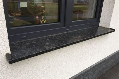 fensterbank granit anthrazit fensterbank au 223 en granit harzite