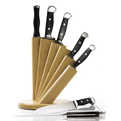 creative kitchen knives 9 creative and knife block set design design swan