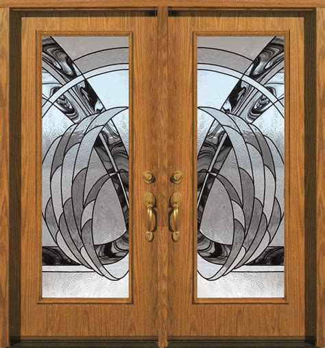 Decorative Glass Entry Doors Decorative Glass For Entry And Interior Doors Gallery