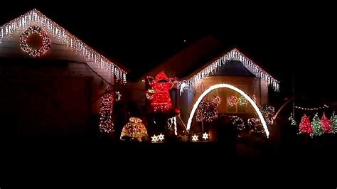 christmas house lights music christmas house lights synchronized with the music eugene oregon 2 youtube