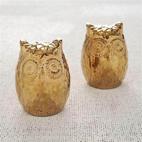 West Elm Owl L by Owl Salt Pepper Shakers West Elm