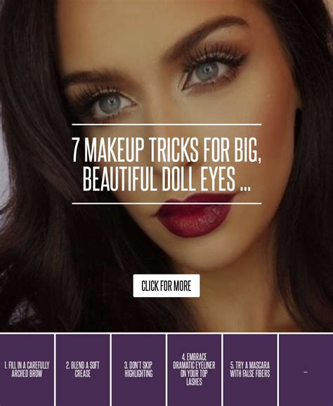 Top 7 Makeup Tricks For Winter by 7 Clever Makeup Tricks For Who Want Baby Doll