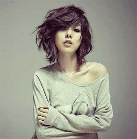 Choppy Bob Hairstyles For Thick Hair by 8 Choppy Bob Hairstyles For Thick Hair Crazyforus