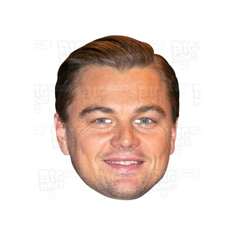 leonardo dicaprio the biography review leonardo dicaprio celebrity face mask oscars theme