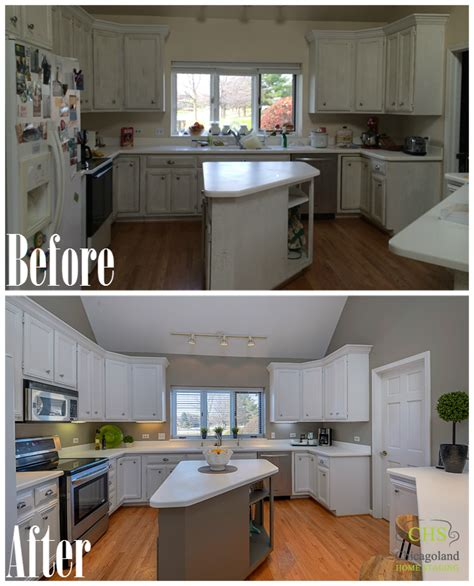staging before and after home staging before and after photos from west chicago