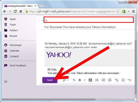 email yahoo forwarding how to forward yahoo mail 10 steps with pictures wikihow