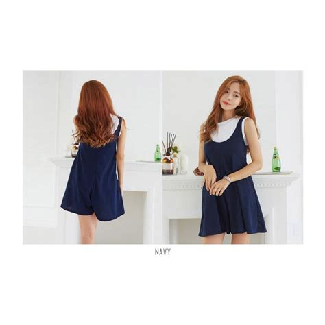 Overall Wanita Big Size cuci gudang korean style your jumpsuit