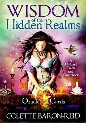 Wisdom Of The Hidden Realms Oracle Cards By Colette Baron | wisdom of the hidden realms oracle cards colette baron