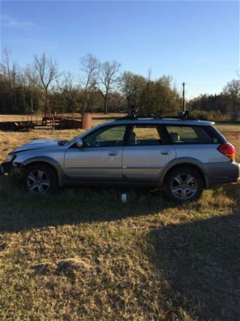 wrecked subaru outback buy used 2006 subaru outback r l l bean edition wrecked