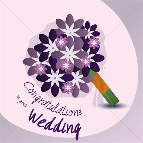 Wedding Congratulations Vector by Congratulations On Your Wedding Vector Image 1791397
