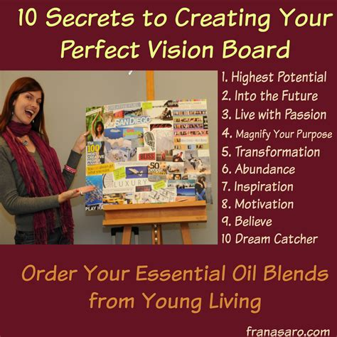 how to create a vision board one that 10 secrets to creating your vision board thrive