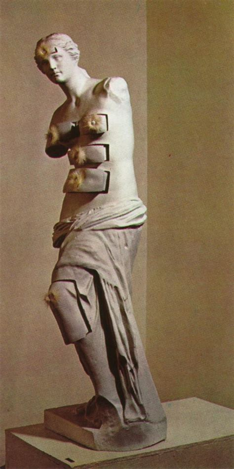 venus de milo with drawers 1936 bronze with plaster