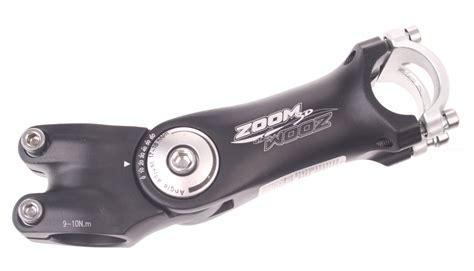 Stem Mtb 28 6 25 4 Standar zoom stem stem adjustable 28 6 125 25 4 mm black