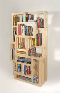 superior Bookshelf Design With Study Table #4: Awesome-Modern-Minimalist-Wooden-Style-Homemade-Bookshelves.jpg