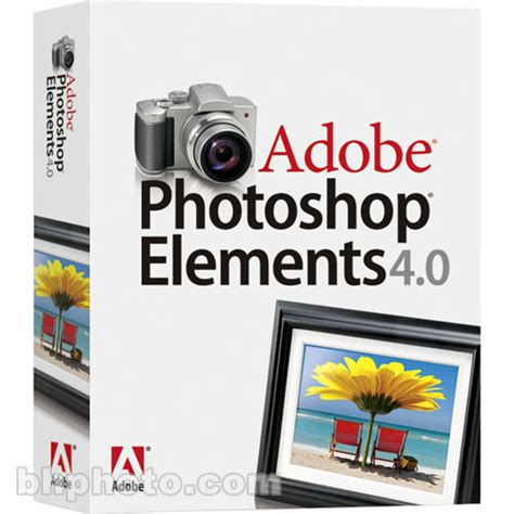 tutorial adobe photoshop elements 4 0 adobe photoshop elements 4 0 for macintosh 19230169 b h photo