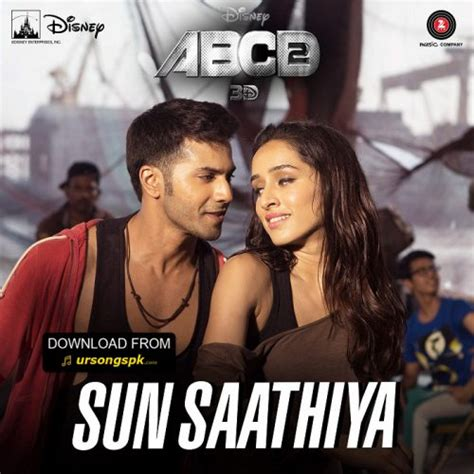 tattoo mp3 abcd 2 sun saathiya abcd2 mp3 song free ursongspk