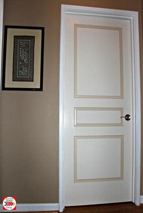 painting door frames painting interior doors in two colors see how we did it