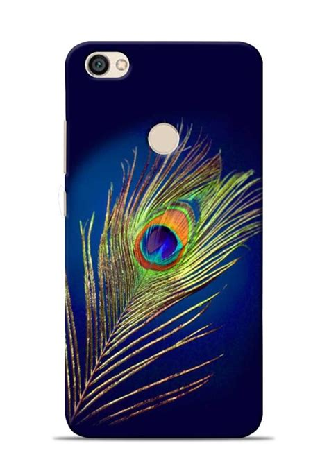 Buy Mor Pankh In Blue Krishna Xiaomi Redmi 3s Back Cover buy mor pankh in blue krishna xiaomi redmi y1 back cover