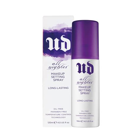 Makeup Spray Decay decay s all nighter lasting makeup setting