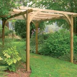 Garden Pergola Images by Forest 7x7 Pergola Kit Buy Fencing Direct