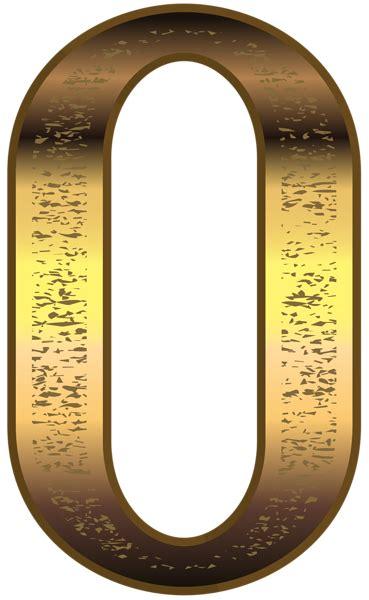 gold number  transparent png image gallery