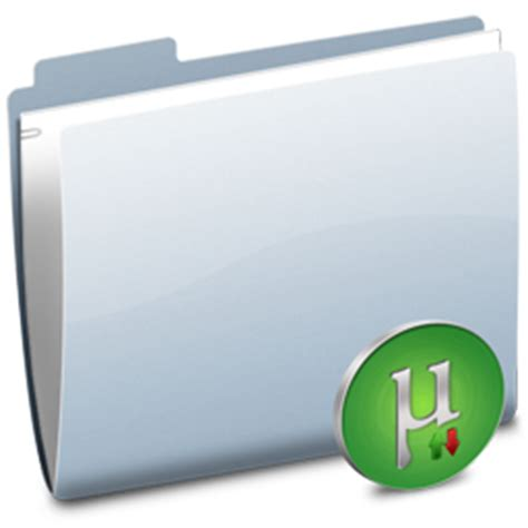 blue utorrent folder utorrent icon free as png and ico formats