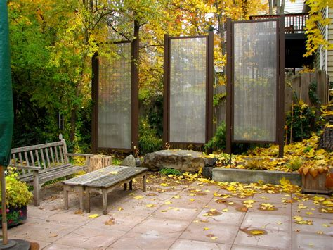terrabella inc deck privacy screen ideas patio traditional with bench